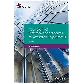 Codification of Statements on Standards for Attestation Engagements, January 2019