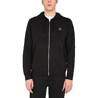 Ma.strum Mas4436f20m000 Men's Black Cotton Sweatshirt