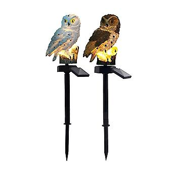 Solar Led Light, Outdoor Lighting, Garden Waterproof Night Lights, Owl Shape,