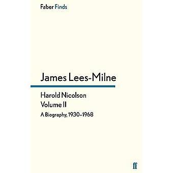 Harold Nicolson Volumen II de LeesMilne & James