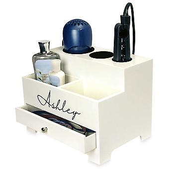 OnDisplay Makayla Deluxe Hair Tool and Accessory Organization Station (Personalizado)