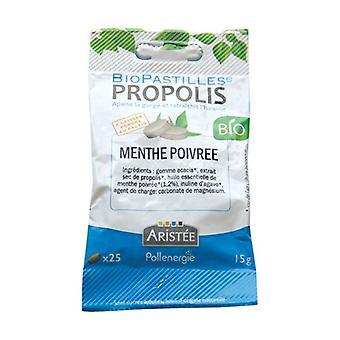 Peppermint propolis biopastilles 25 pellets