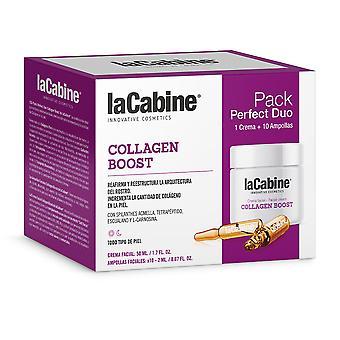 La Cabine Perfect Duo Kollagen Boost Set 2 Pz för kvinnor