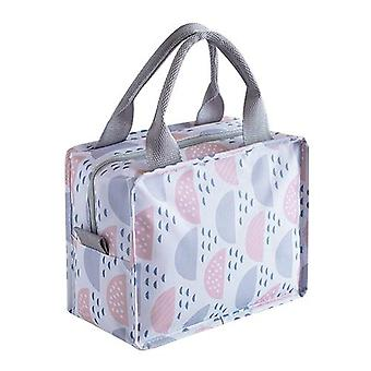 Oxford Portable Lunch Bag Cooler Thermal Food Organizer Cold Insulated School