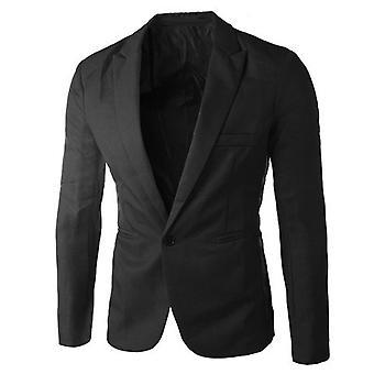 Männer Frühling Mode Hochwertige Slim Fit Männer Anzug Blazer
