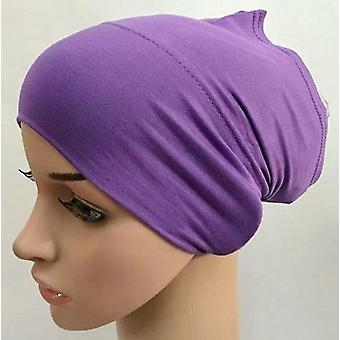 Caps de hijab interior modal macio