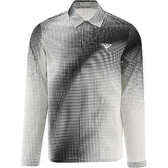 Prada Sc5421yiif0964 Men's White/black Cotton Shirt