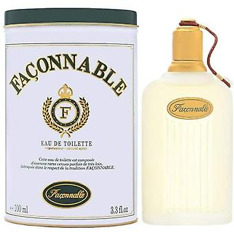 Faconnable Homme Eau de Toilette Spray for Men 100 ml