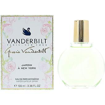 Gloria Vanderbilt Jardin a New York Eau de Parfum Fraiche 100ml Spray