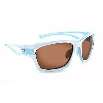 Cassette - unisex copper and smoke interchangeable lens golf sunglasses