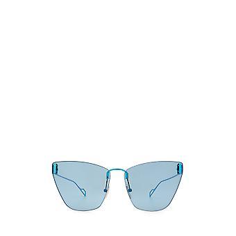 Balenciaga BB0111S light-blue female sunglasses