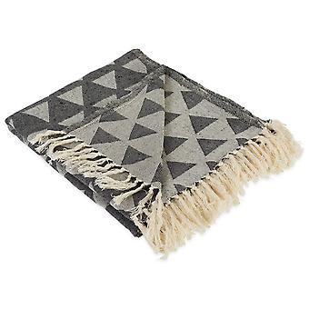 Dii Dreieck werfen schwarze Decke
