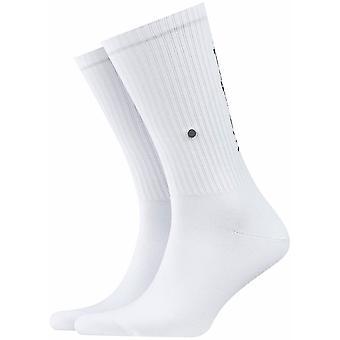 Burlington Logo Socks - White