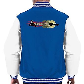 Knight Rider Turbo Booster Men's Varsity Jacket