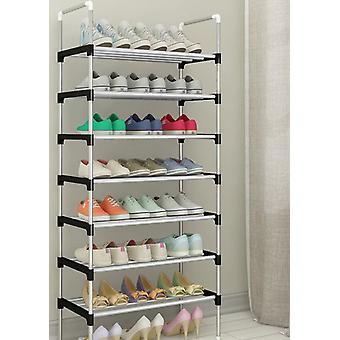 Easy Assemble Shoe Rack Sneakers Stand & Boots Rack & Home Dorm Stand Holder