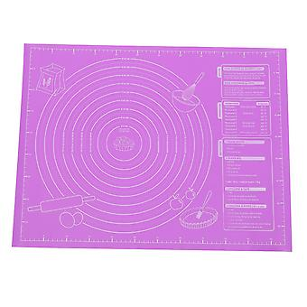 Silicone Pad, Large Baking Mat For Rolling Pizza Dough Non-stick