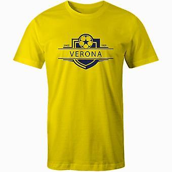 كييفو فيرونا 1929 أنشئت شارة كرة القدم تي شيرت