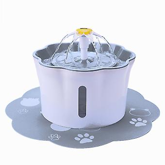 Automatic electric water dispenser feeder bowl for cats dogs multiple pets 2.6l