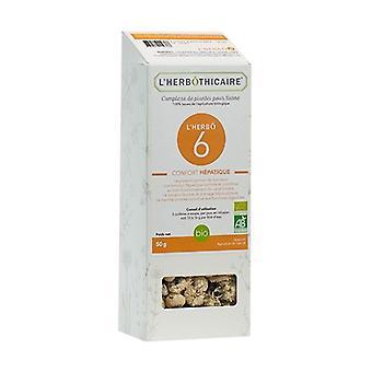 L'herbô 6 hepatic comfort complex 50 g