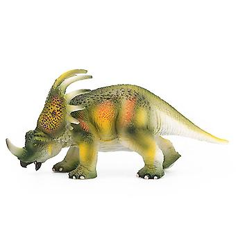 Big Size Jurassic Wild Life Dinosaur Plastic Play World (bruin)