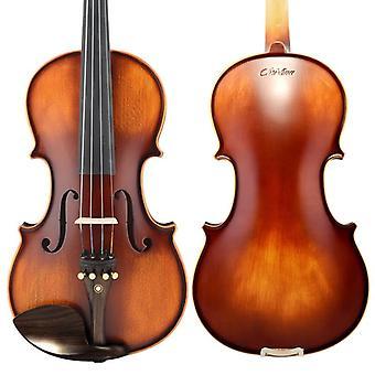 Christina Violino Fatto a mano V02 Acero Antico 3/4 Strumento Musicale Con Violino