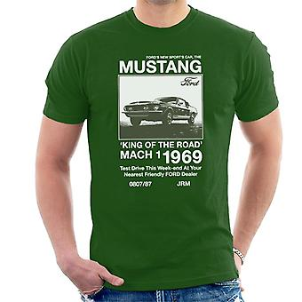 Ford The New Sports Car The Mustang Men't-shirt