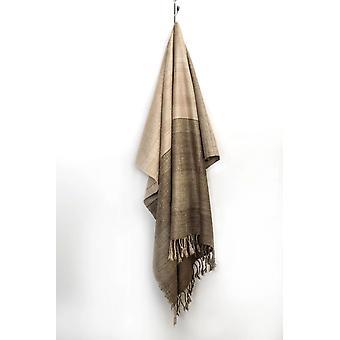"Spura Home Indian Handmade Artisan Harda Block Warm Silk Throw 50""x70"""