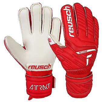 Reusch Attrakt Silver Junior Goalkeeper Gloves
