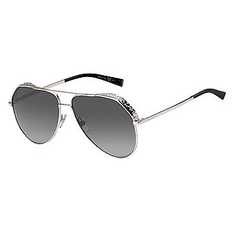 Givenchy Asian Fit GV7185/G/S 010/9O Palladium/Dark Grey Gradient Sunglasses