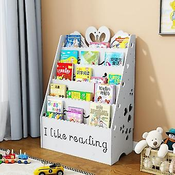 Children Cabinet Furniture Plastic Wood Baby Bookshelf Organizer