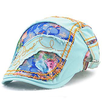 Chapeau de crème solaire de dentelle de chapeau de base-ball de dames