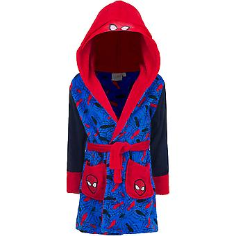 Spiderman kids 3-8y dressing gown robe hood spi2092bth