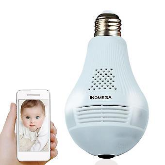 Svetlá bezdrôtová panoramatická IP kamera