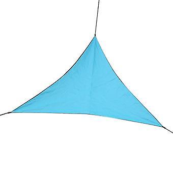Outdoor triangular sunshade sail