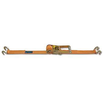 Beta 081820285 8182S 50-MT8.5 Ratchet Tie Down /w Hook Lc 2000kg Belt 50mmx8.5m