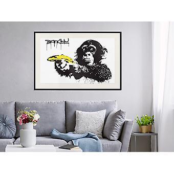Poster - Banksy: Banana Gun I-60x40