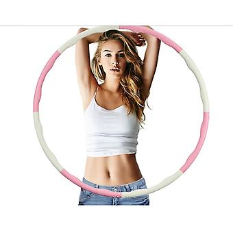 YANGFAN Weighted Hula Hoops for Woman and Man Exercise Removable Multiple Assembly Design Professional Fitness Hula Hoop Brings Perfect Figure