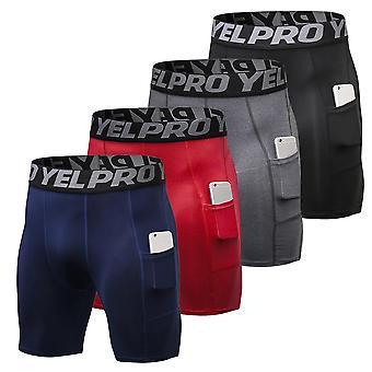 4 Packs Quick Dry Short's, Running Tights Underwear