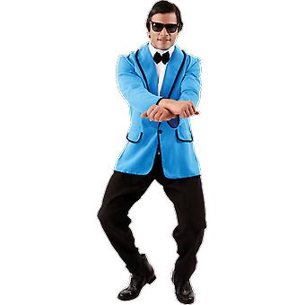 Orion kostymer mens Gangnam Style koreanska Popstar KPOP musik fancy Dress