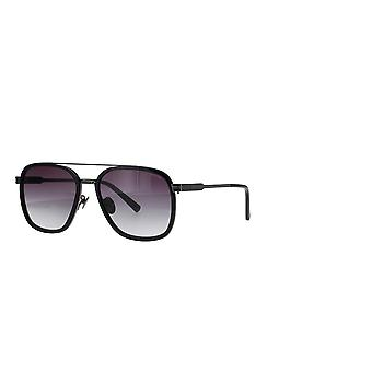 Police Lewis 21 SPLC49 BLKY Super Black/Smoke Gradient Sunglasses
