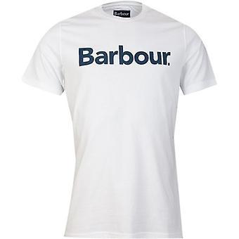 Barbour Logo Crew Neck T-Shirt