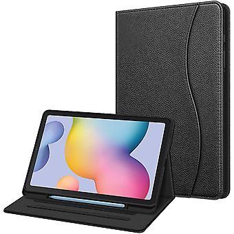 FengChun Hlle fr Samsung Galaxy Tab S6 Lite, weiche TPU Rckseite Gehuse Schutzhlle mit S Pen Halter