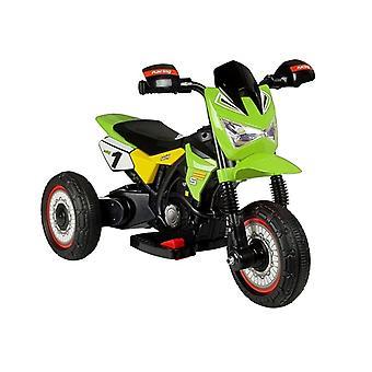 Elektrische driewieler – bestuurbare motor groen