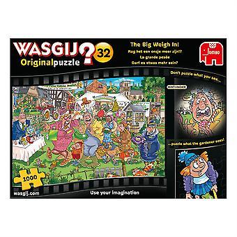 Jumbo Wasjig Original 32 The Big Weigh in! 1000 pieces