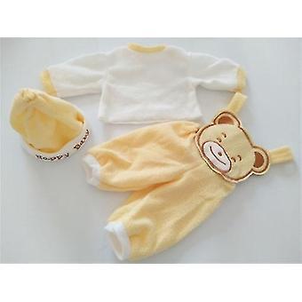 4 stijl pop kleding su het voor 22 inch pasgeboren baby pop pl-657