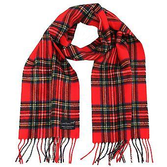 Unisex Adults' 100% Wool Tartan Scarves