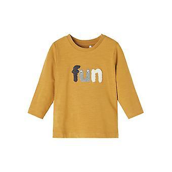 Name-it Jongens Newborn Tshirt Lennart Cumin