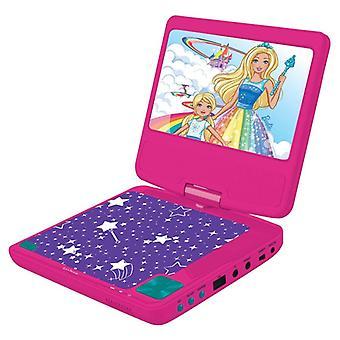 Lexibook DVDP6BB Barbie Bærbar DVD-afspiller UK Plug