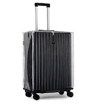 כיסוי מזוודות PVC עמיד למים כיסוי מזוודה מתאים 18-18 אינץ ' מזוודות