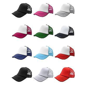 Zomer Plain Trucker Mesh Hat Snapback Blank Baseball Cap Verstelbare grootte